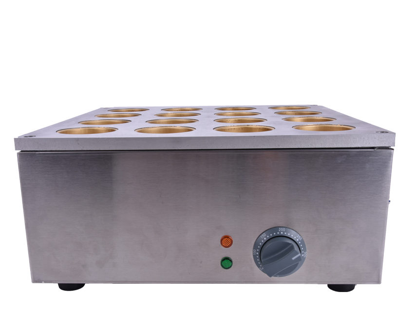 1 PC 220v  16 hole copper electric heating circle bread oven red bean cake machine scones wheel furnace
