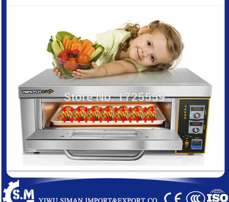 single electric pizza oven homeuse cake bread oven one layer one plate oven with mathematical temperature control