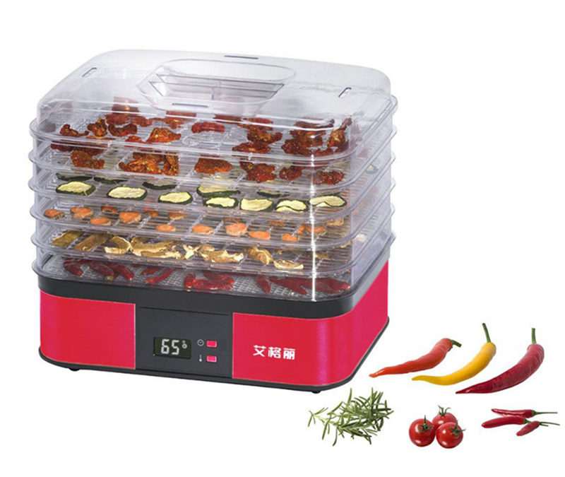 220V 250W Electric Food Dryer 5 Layers Electric Food Dehydrator Meat Vegetable Fruit Dehydrator For Kitchen Tool